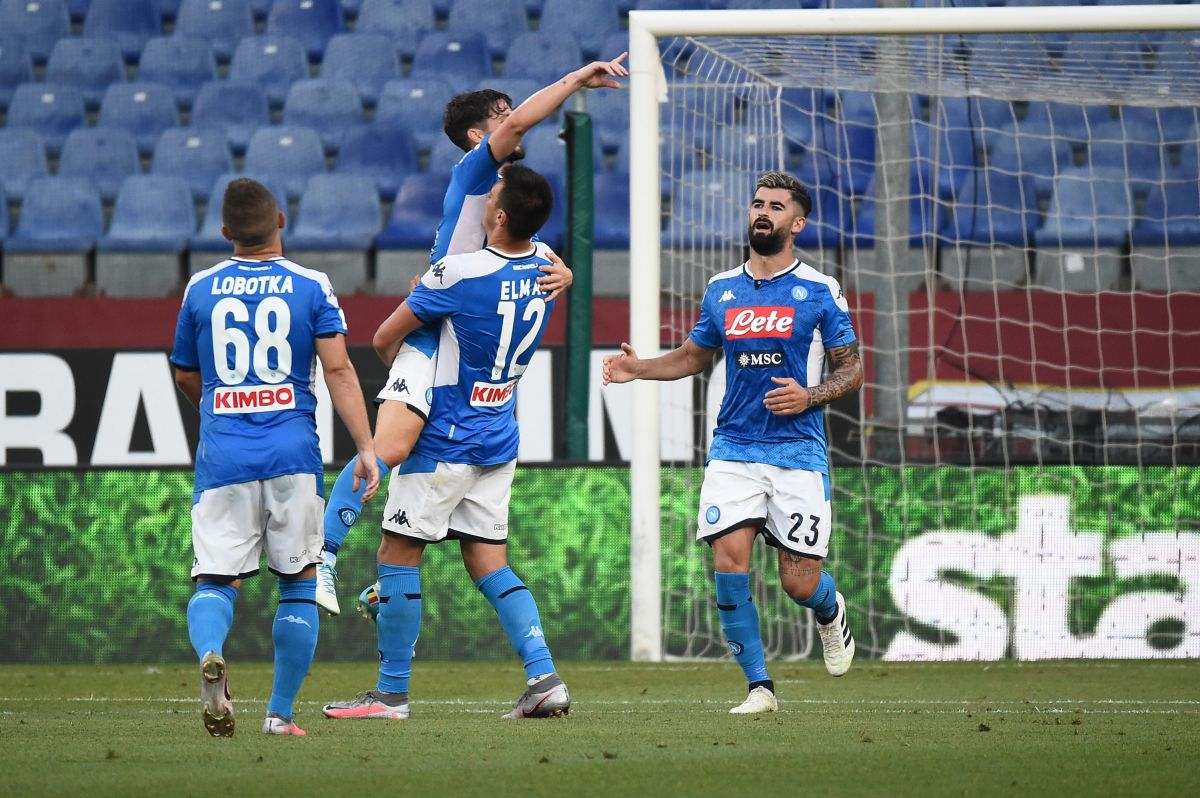 Il Napoli passa a Marassi, battuto il Genoa 2-1