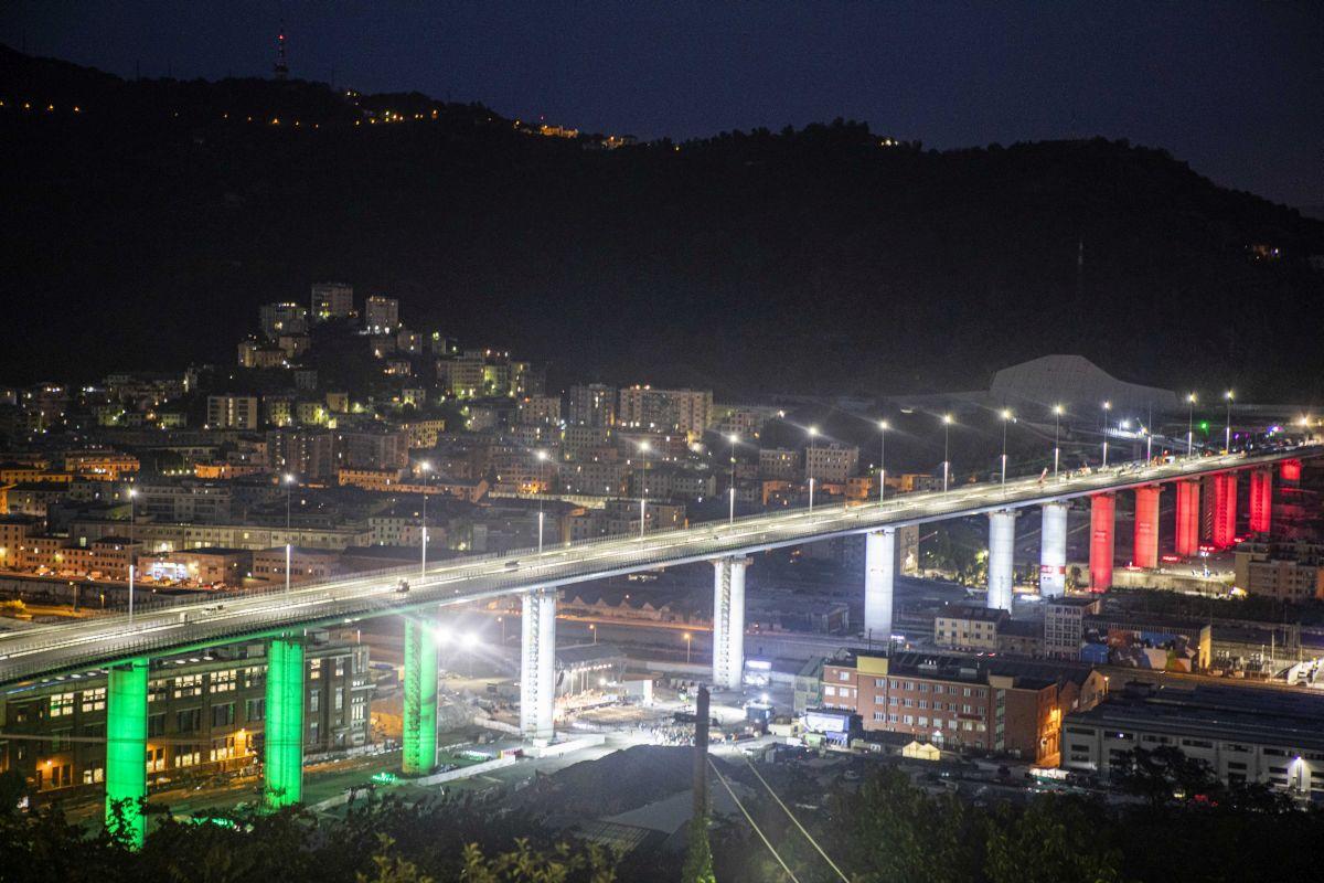 67 mila metri cubi di calcestruzzo per il Ponte di Genova