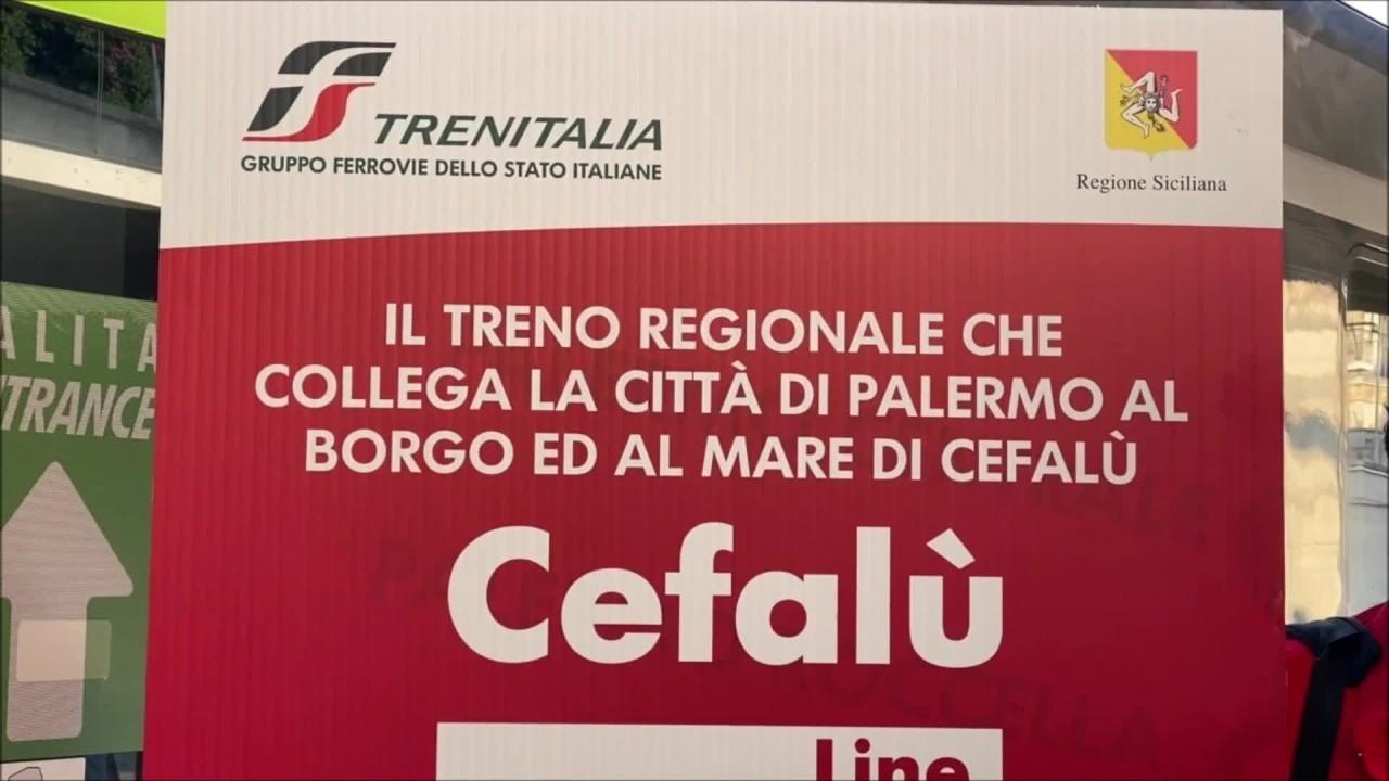 Nuovo treno diretto Cefalù-Punta Raisi