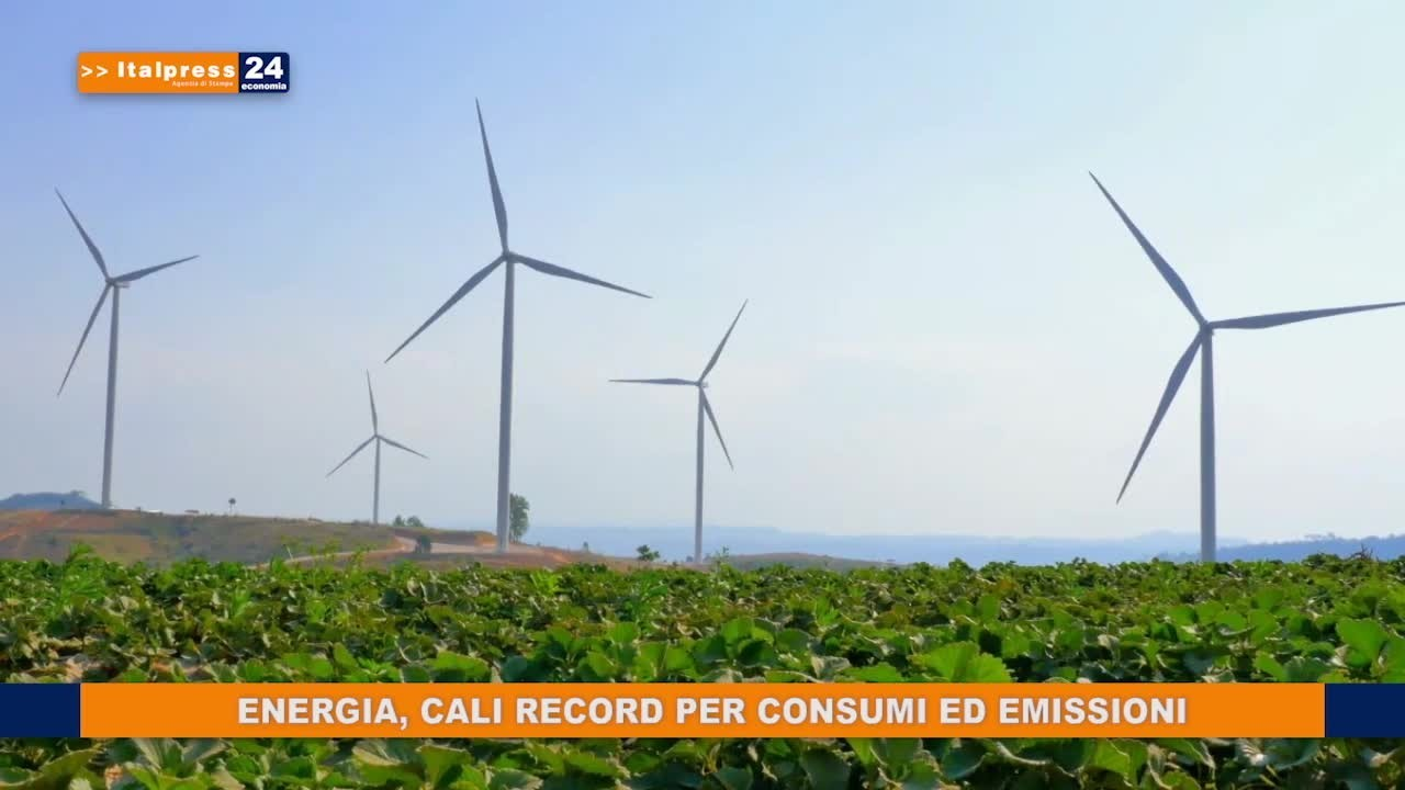 Energia, cali record per consumi ed emissioni