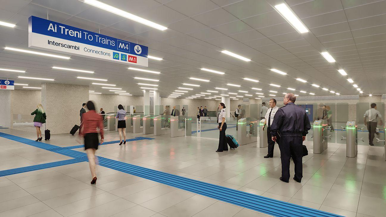 Milano, sprint verso l'attivazione della nuova linea metro M4