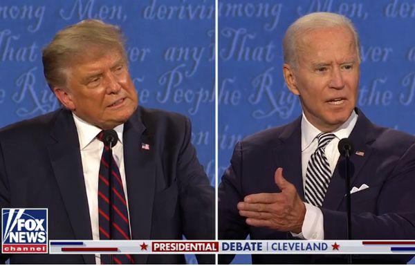 Usa, insulti nel primo duello tv Trump-Biden