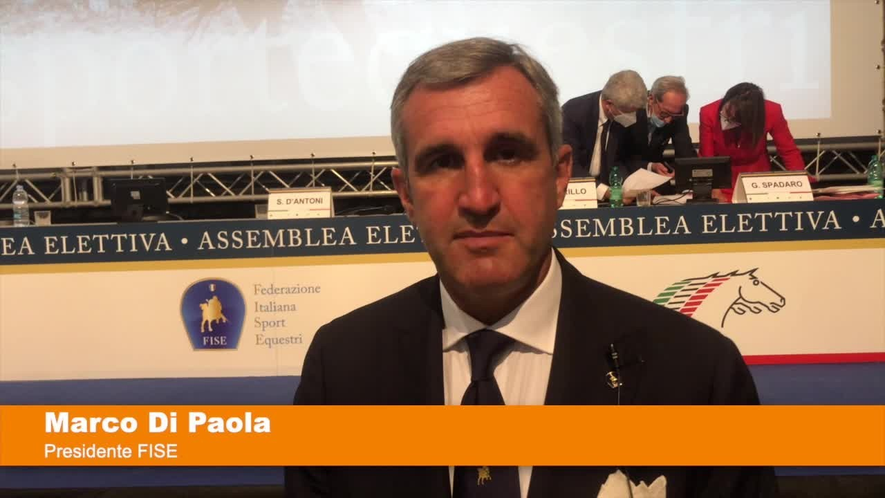 """Di Paola confermato presidente FISE """"Soddisfazione enorme"""""""