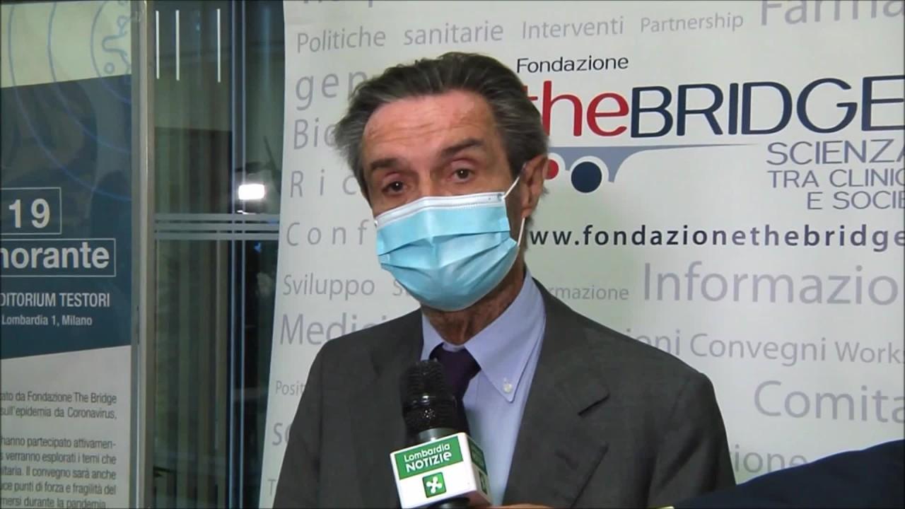 """Coronavirus, Fontana """"da sanità lombarda risposte eccellenti"""""""