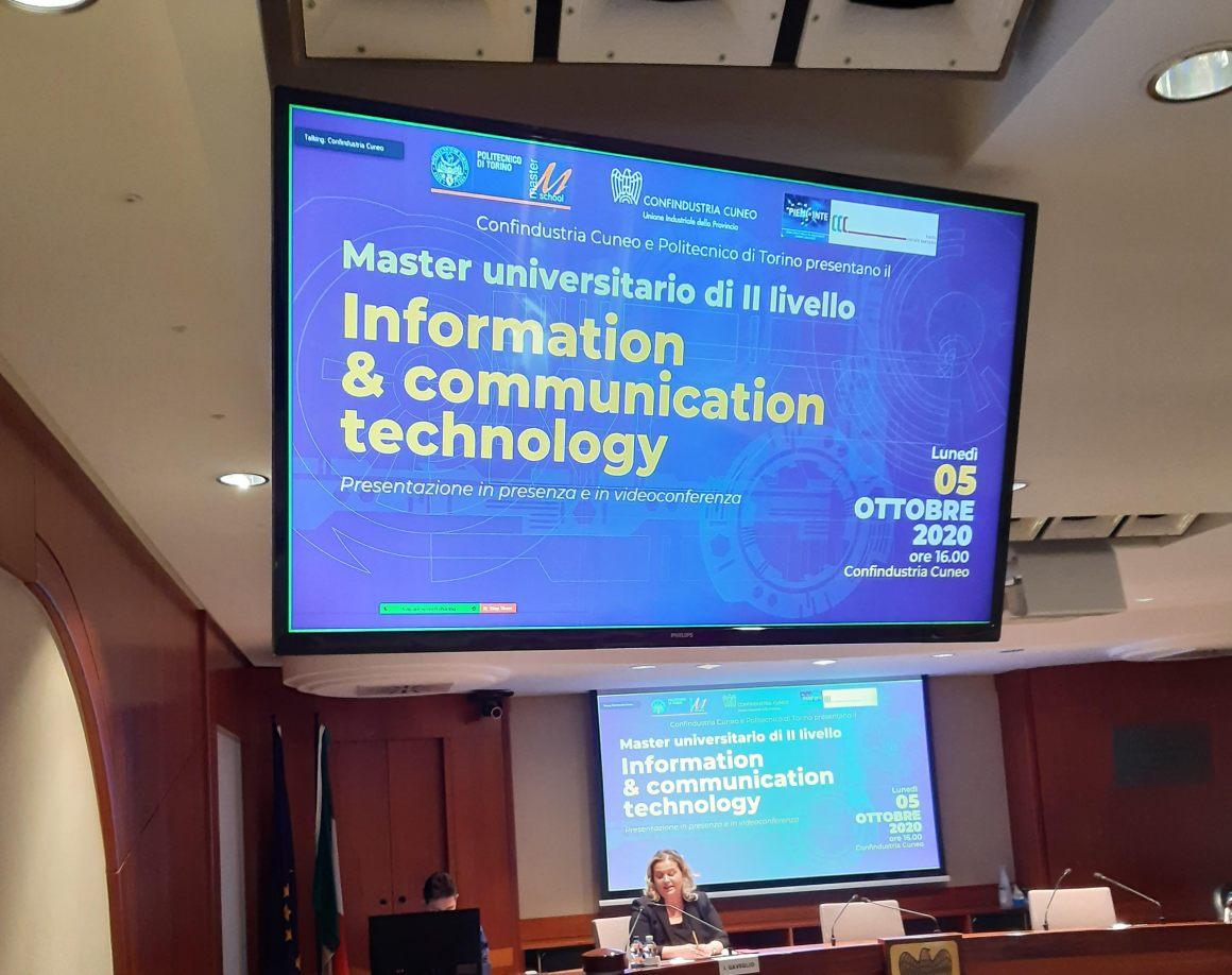 Politecnico Torino, un master per l'ICT nelle imprese cuneesi
