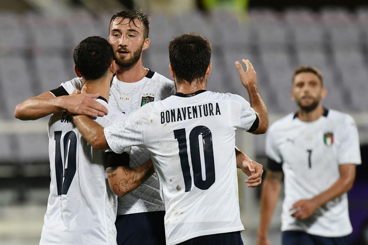 Italia travolgente, Moldova battuta 6-0 nell'amichevole di Firenze