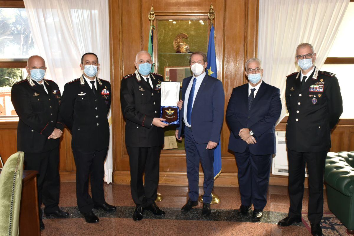 Rinnovato protocollo tra Federazione Motociclistica e Arma Carabinieri