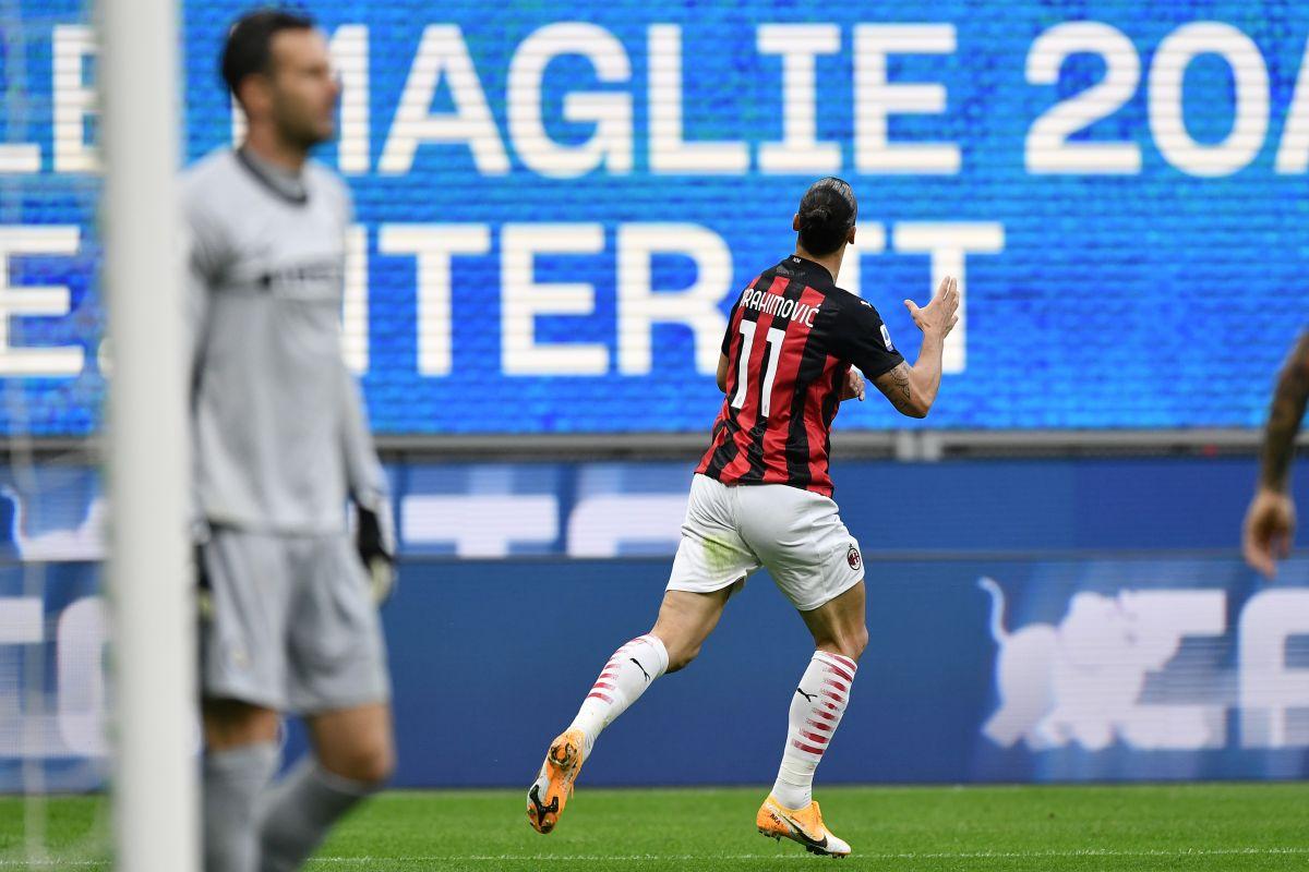 Doppietta Ibrahimovic e gol Lukaku, Inter-Milan finisce 1-2