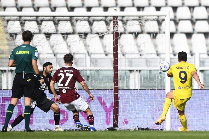 Belotti non basta al Torino, Simeone e Joao Pedro lanciano il Cagliari