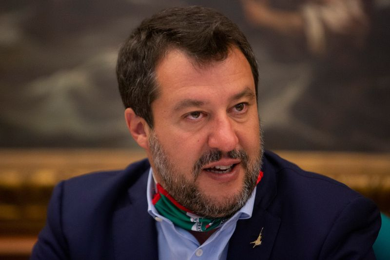 """Coronavirus, Salvini """"Nuova chiusura sarebbe morte del Paese"""""""