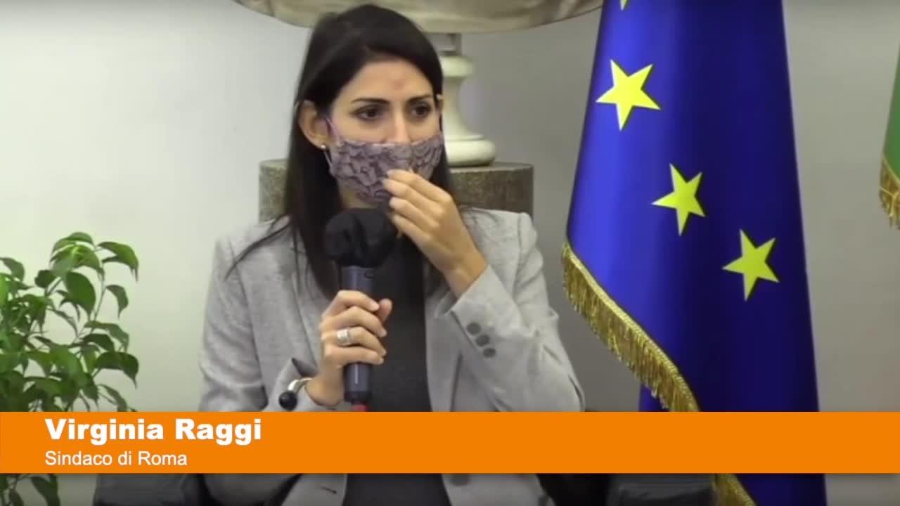 """Scontri a Roma, Raggi """"Ferma condanna per i vandali"""""""
