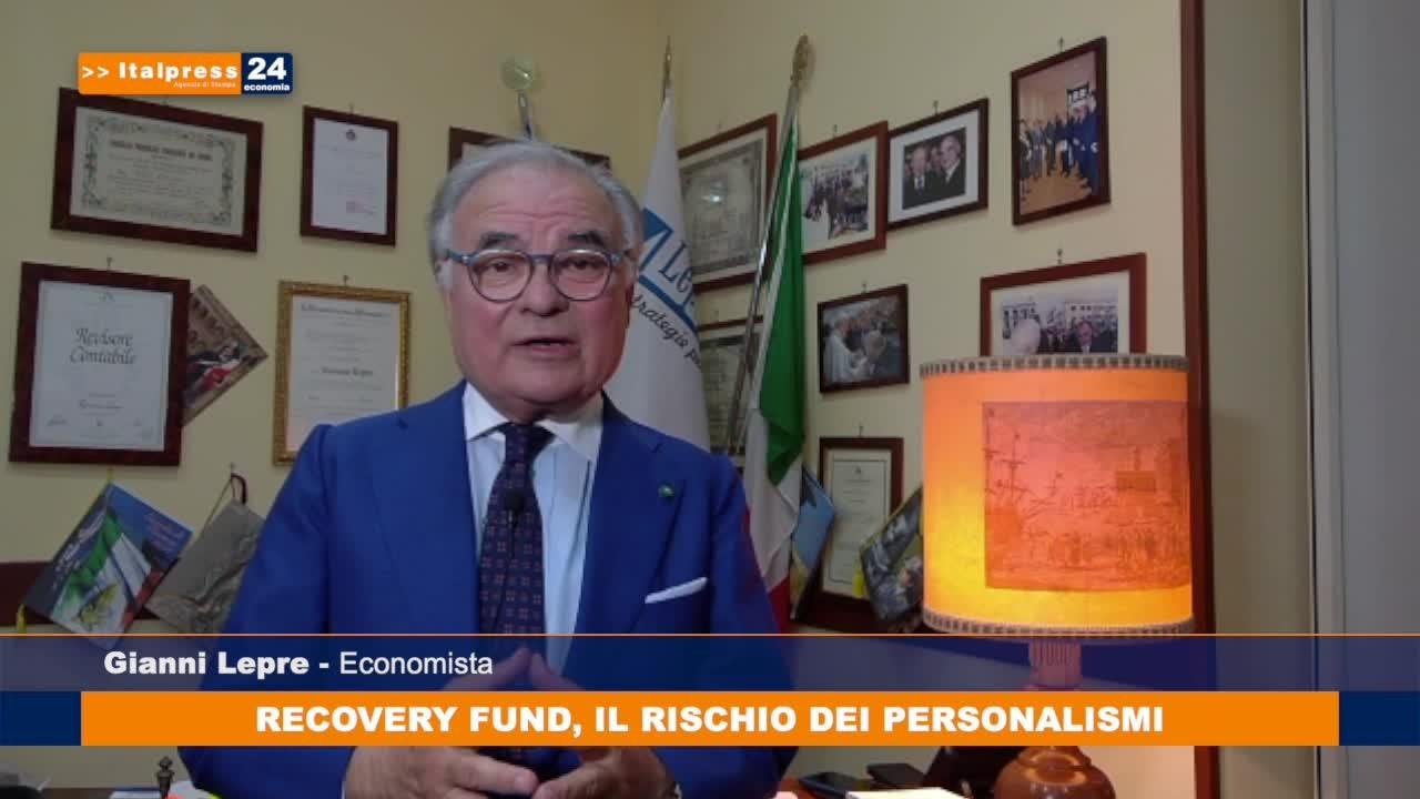 Recovery fund, il rischio dei personalismi