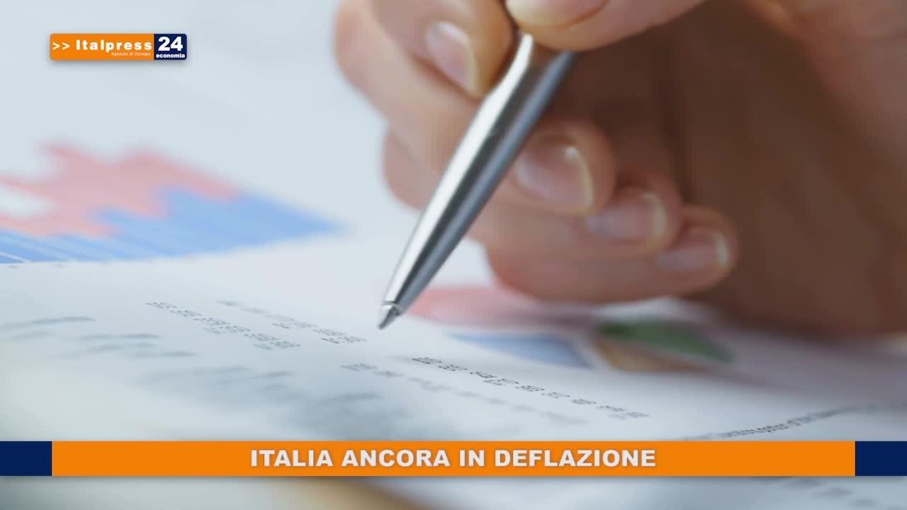 Italia ancora in deflazione
