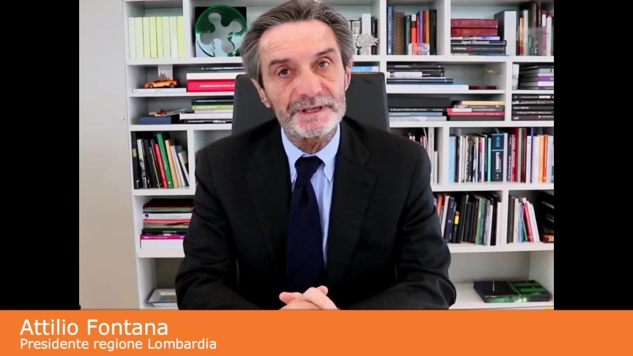 "Coronavirus, Fontana ""Contagio sale, lombardi collaborate"""