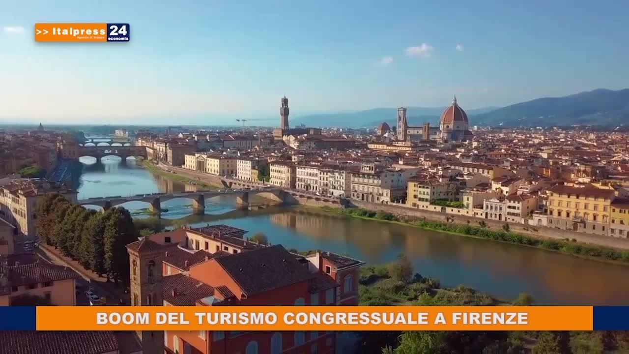 Boom del turismo congressuale a Firenze
