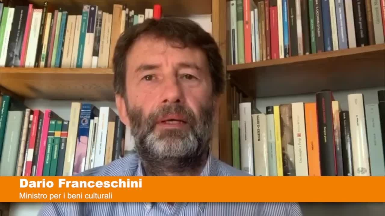 """Franceschini """"Chiusura cinema e teatri la più breve possibile"""""""