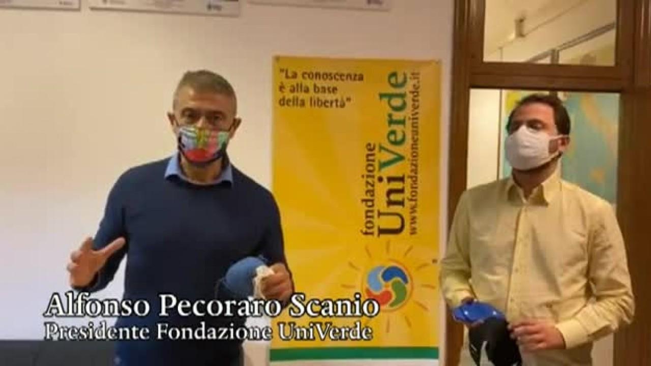 """Pecoraro Scanio """"mascherine problema ambientale e di legalità"""""""