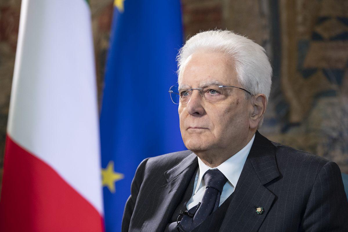 """Mattarella """"Il Covid tende a dividerci, no a polemiche scomposte"""""""