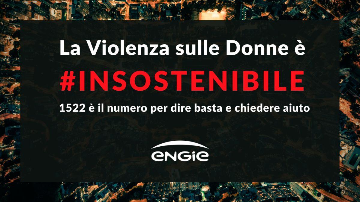 Engie Italia, una campagna contro la violenza di genere