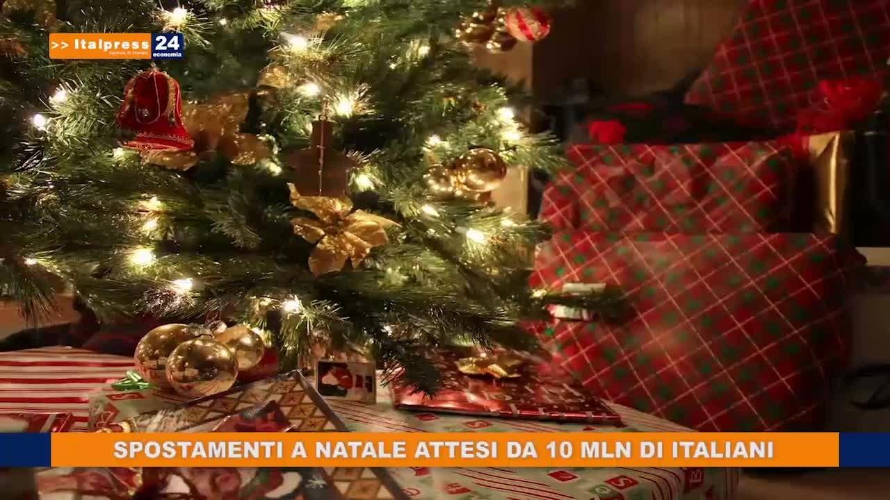 Natale, spostamenti attesi da 10 mln di italiani