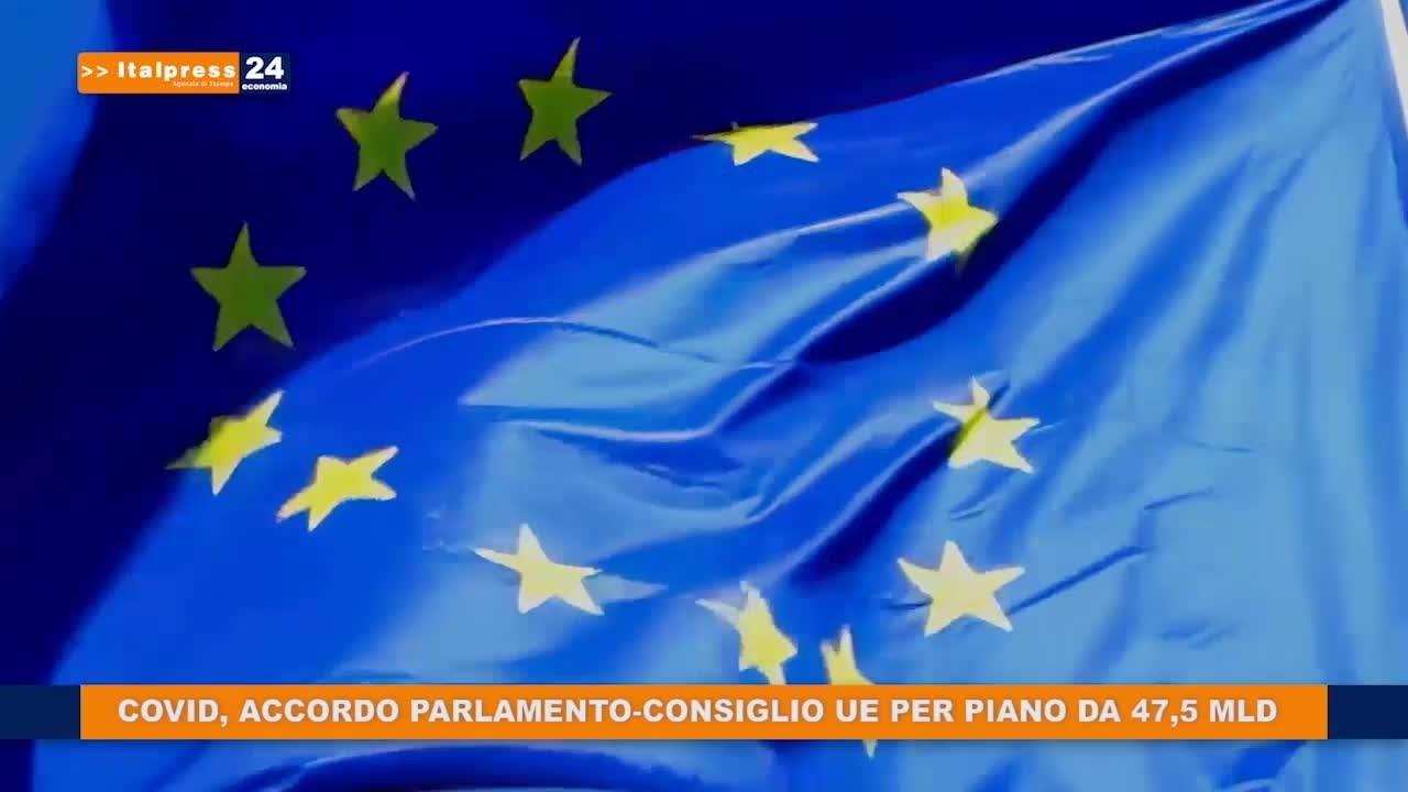 Covid, accordo parlamento-consiglio UE per piano da 47,5 mld