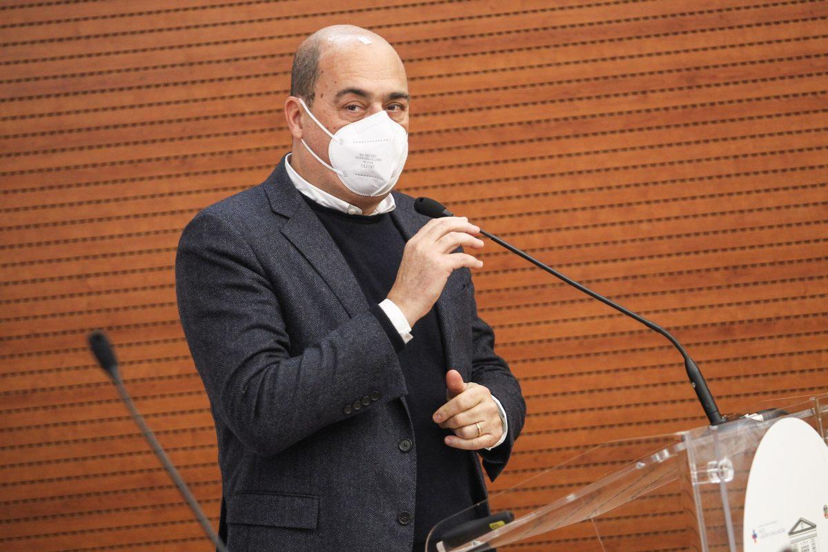 """Governo, Zingaretti """"La crisi è un grave errore"""""""