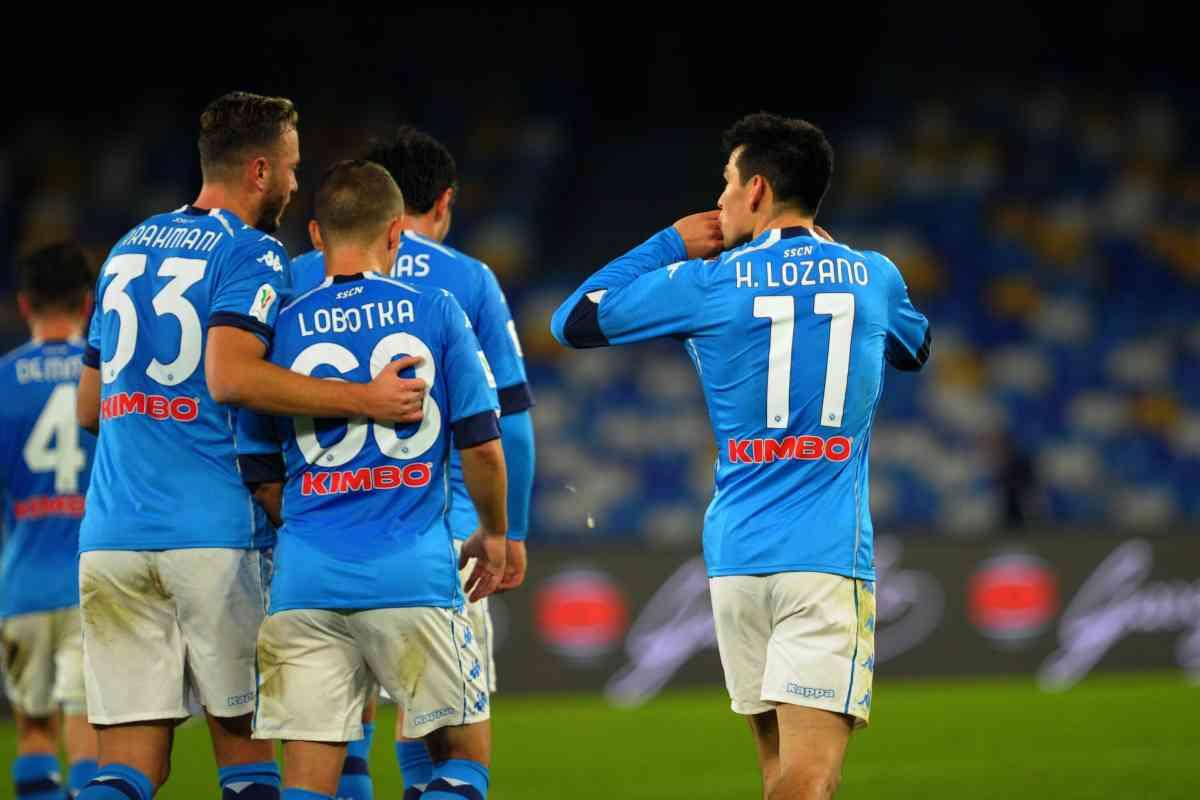 L'Empoli lotta ma il Napoli va avanti in Coppa Italia