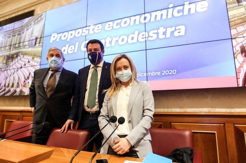 """Governo, Centrodestra """"Conte si dimetta o chieda voto di fiducia"""""""