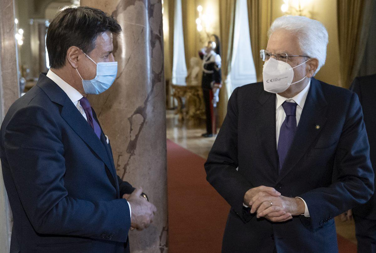 """Conte a Mattarella """"Sulla crisi chiarimento politico in Parlamento"""""""