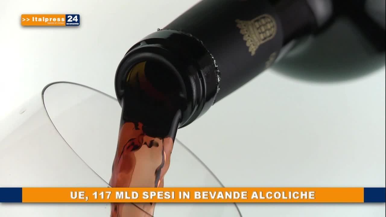 UE, 117 mld spesi in bevande alcoliche