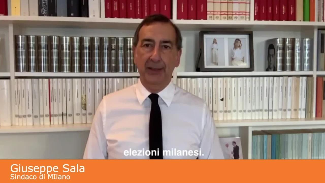 """Amministrative MIlano, Sala """"Equità, ecologia e energia giovani"""""""