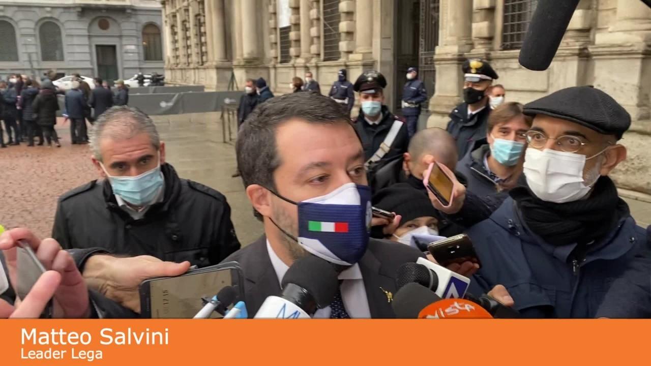 """Formentini, Salvini """"Se Milano è questa grazie a suo coraggio"""""""