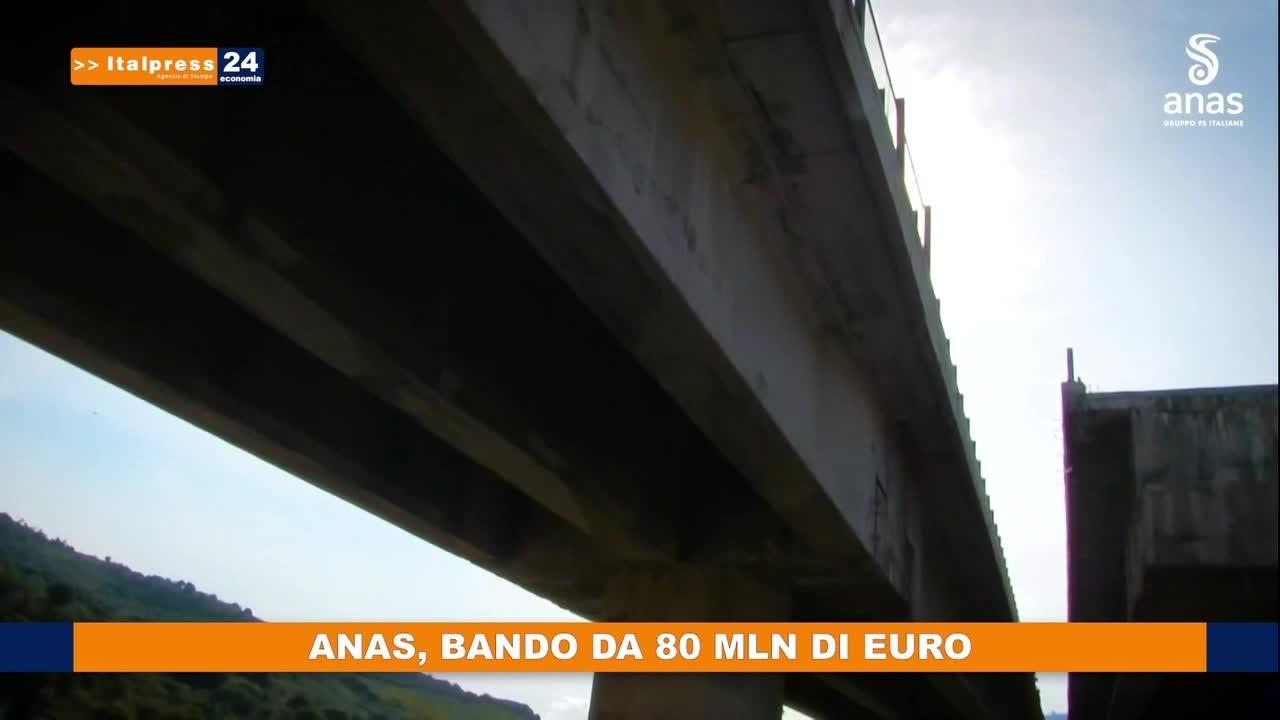 ANAS, bando da 80 mln di euro